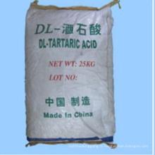 Dl-Tartaric Acid (acide L-tartarique, acide D-tartarique) pour Additif alimentaire