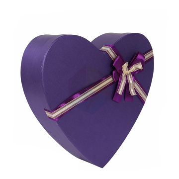 Purple Cardboard Chocolate Rigid Gift Box