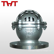 one way foot valve with strainer for water pump