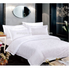 Luxury Jacquard Hotel Bed Sheet Set for 5 Star Hotel