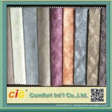Chine Nouveau Design Pvc Glitter Cuirs pour Sacs et Décorations