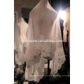 Venta caliente de largo diseño de encaje del velo de novia