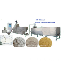 modify starch processing line