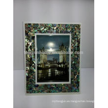 Decoración para el hogar Abalone Paua Shell Mixed Sexy Photo Frame