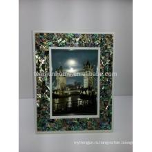 Домашний декор Abalone Paua Shell Смешанный Sexy Photo Frame
