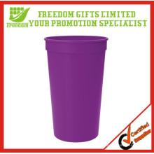 Nuevo logotipo personalizado plástico PP Stadium Cups