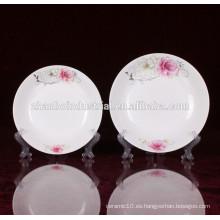 Placa china china de la porcelana china china de la buena calidad