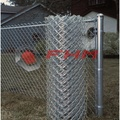 Galvanized Chain Link Fence 12 Gauge Wire