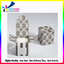 New Arrival Luxury Color Printing Soft Folding Candle Box
