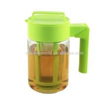 Hot Nouveaux produits pour 2016 nouvelles idées d'affaires anti-fuites BPA-gratuit Tritan en plastique café glacé infuseur Pitcher