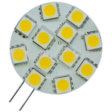G4 Светодиодная лампа 12 LED 5050 (GN-HP-WW1W12-G4)