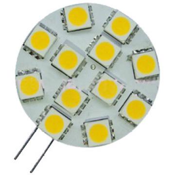 G4 lâmpada LED de 12 LED 5050 (GN-HP-WW1W12-G4)
