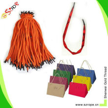 cotton rope handle/cotton handle rope/cotton rope with crimp