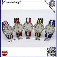 Yxl-124 2016 Мода НАТО Нейлон Женщин Платье Кварцевые Часы Мужчины Спортивные Часы Дамы Мода Браслет Наручные Часы Подарок