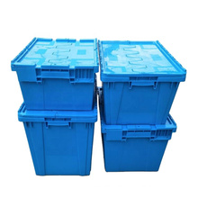 Logistic Storage Box Guangming Plastic, Heavy Duty Stackable Plastic Turnover Box/
