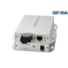 Single-Mode Dual Fiber Sc Fiber Optic Interface Media Converter