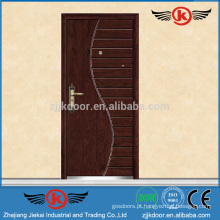 JK-A9018 Grelha de porta principal blindada Design de porta de ferro forjado