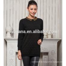 2015 Mode Frau Kaschmir langen Pullover