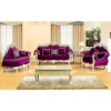 Sofá clássico para mobília da sala de estar (929C)