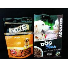 Bolsa de envasado de alimentos para perros 500g.1kg / bolsa de alimentos Ecofriendly para perros con cremallera