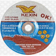 Abrasivo de carboneto de silício 180X6X22mm disco de moagem para carbono