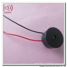 Buzzer passif à 6,6X3,6 mm avec amplificateur magnétique avec ligne