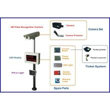 Lpr Parking System Management Access Control Barrier Gate