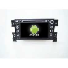 Reproductor de DVD del coche de 7 pulgadas GPS para Suzuki Grand Vitara con gps del coche mirror-link