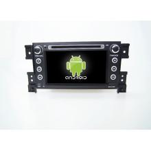 Lecteur DVD de voiture 7inch GPS pour Suzuki Grand Vitara avec gps voiture miroir-lien