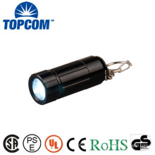 Factory Price Portable Mini Keychain USB Rechargeable Led Torch