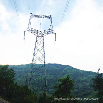220 kV Circuito Único Tipo Cat-Head Ângulo Torre de aço