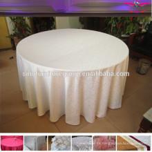 Paño de mesa de lino de damasco