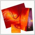 SGS Test, Black & Red Papiertüte, Einkaufstasche (KG-PB041)