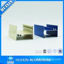 Triple panel aluminum mullion aluminum extrusion aluminum window profile