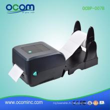 Machine thermique d'imprimante d'étiquette de code à barres d'autocollant thermique de 4 pouces pour l'impression d'étiquette