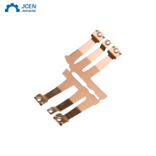 Custom copper metal stamping for contacts