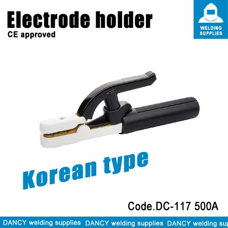 Korean type welding electrode holder  Code.DC-117