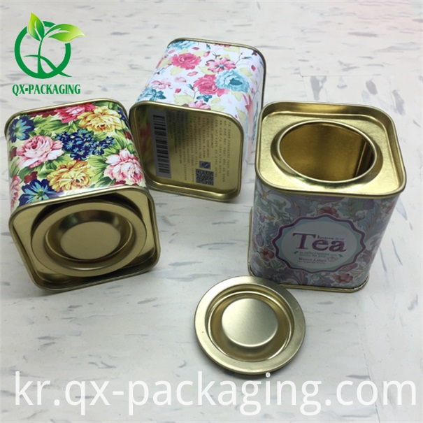 Custom Tea Tins