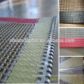 Cinta transportadora de malla PTFE (Teflon) de alta calidad para máquina de barnizado UV / Máquina de recubrimiento UV