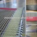 Correia transportadora de malha PTFE (Teflon) de alta qualidade para máquina de verniz UV / Máquina de revestimento UV Qualidade Escolha