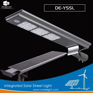 DELIGHT High Lumen All-in-One Solar Post Street Lights