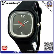 Yxl-110 силикона Студня конфеты Цвет часы, прекрасная Детская, Фабрика высокого качества изготовленный на заказ OEM продвижение девушки женщин наручные часы Повседневная спортивные часы