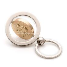 Изготовленный на заказ брелок для ключей из металлического цинкового сплава с эмалью