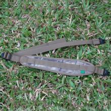 Neoprene Brown Gun Belt