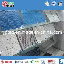 Agujeros cuadrados / redondos Perforated Metal Mesh / Stainless Steel / Galv.