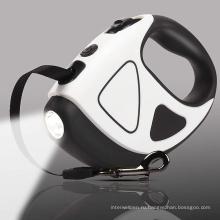 Новый светодиодный выдвижной поводок для собак с логотипом на заказ