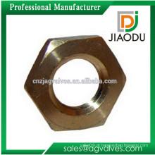 1/8 '' or1 / 4 '' ou 3/4 '' ou 1 '' ou 2 '' ou 3 '' fabricante de porcelana na china preço de fábrica cw617n parafuso de porca de cobre para tubos