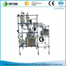 ТСТ-250BS 250Л промышленный стеклянный реактор/эмалированный реактор б/у стекло выстроились реактор