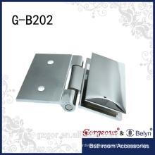 two hole 90 degree wall - glass clamp hinge For Glass Shower room/Glass Fittings Clamp