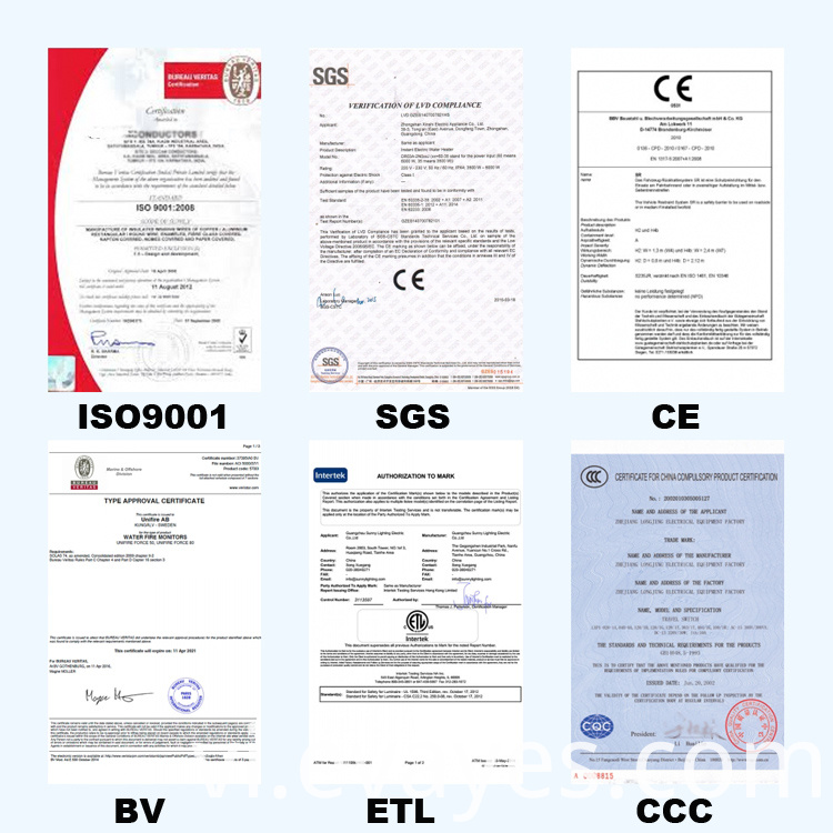 EVA products fty certificate